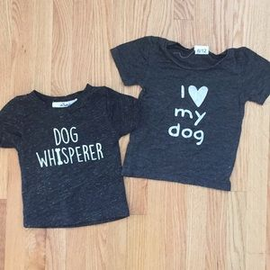 Oh baby! Infant T-shirt's 3-6/6-12 months
